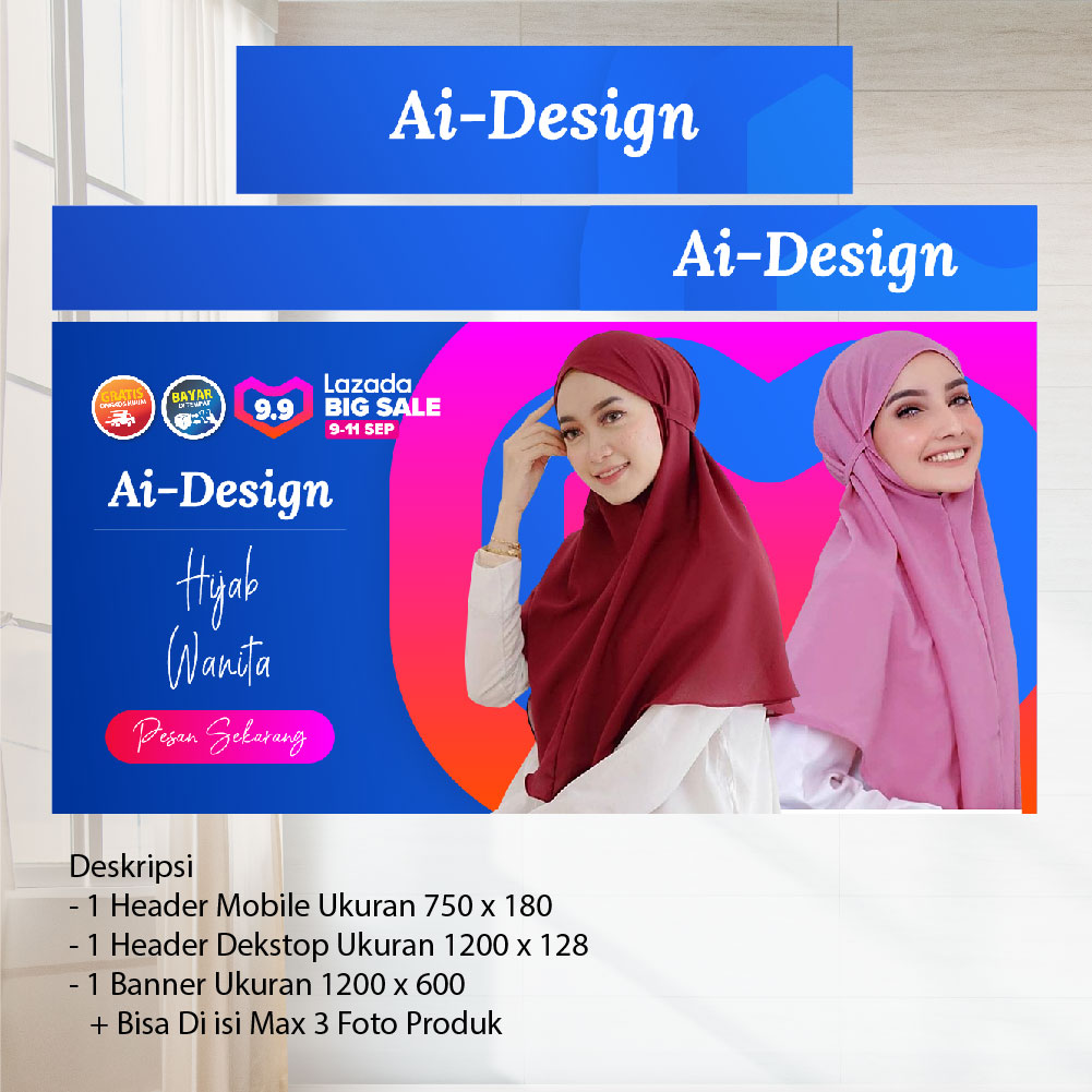 Ai Design - PAKET MARKETPLACE LENGKAP