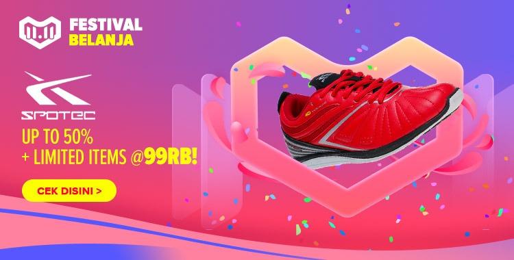 Spotec Pablo Sepatu Olahraga Lari Pria Wanita