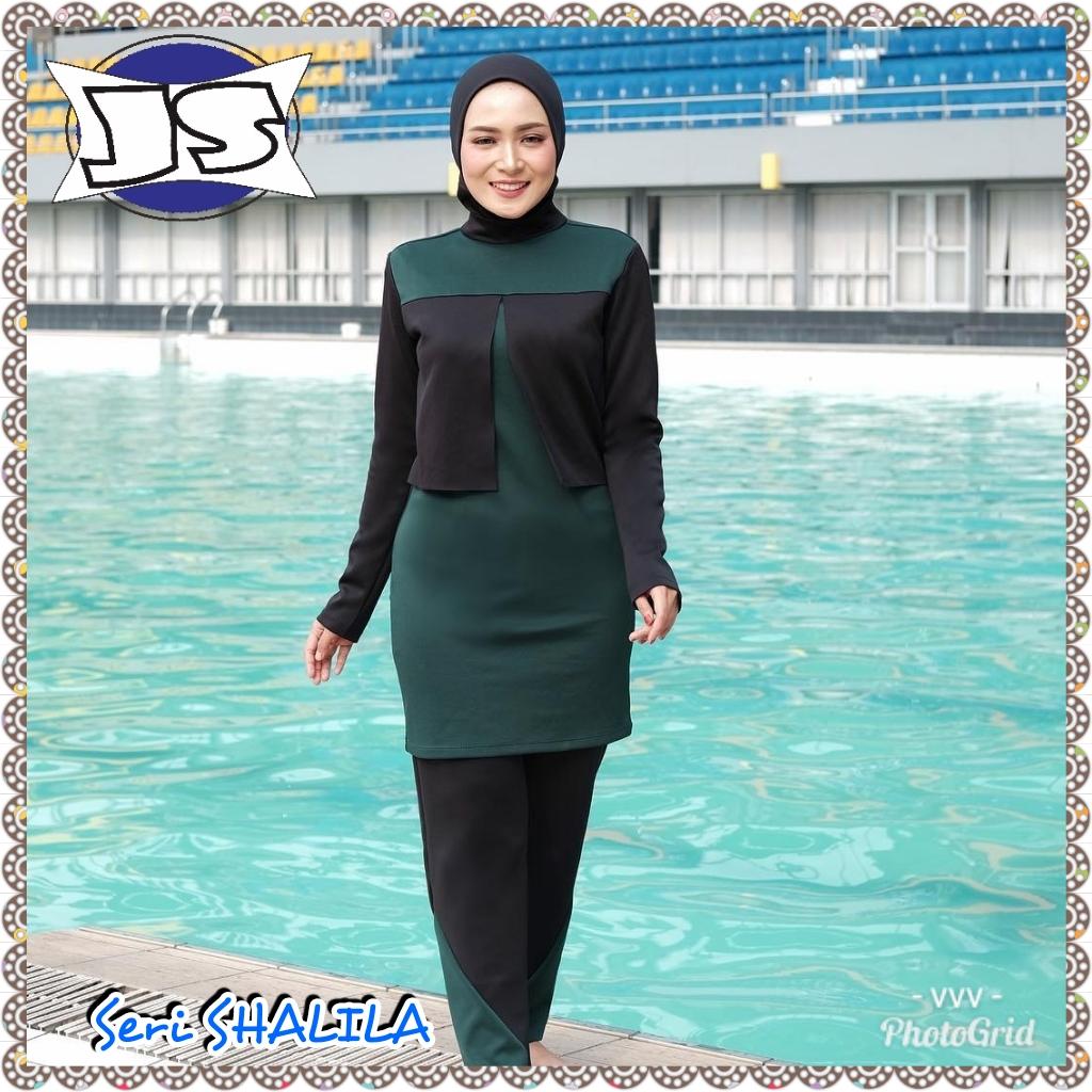 Detail produk dari TERMURAH - Baju Renang / Baju Renang Muslimah / Baju Renang Muslim Wanita / Baju Renang Muslim Wanita Modern Terbaru 2019 / Bahan TEBAL ...